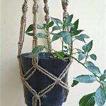 plant hanger macrame Jute rope